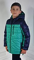 Куртка  детская демисезонная для мальчика, весенняя, осенняя, р-р 104-110