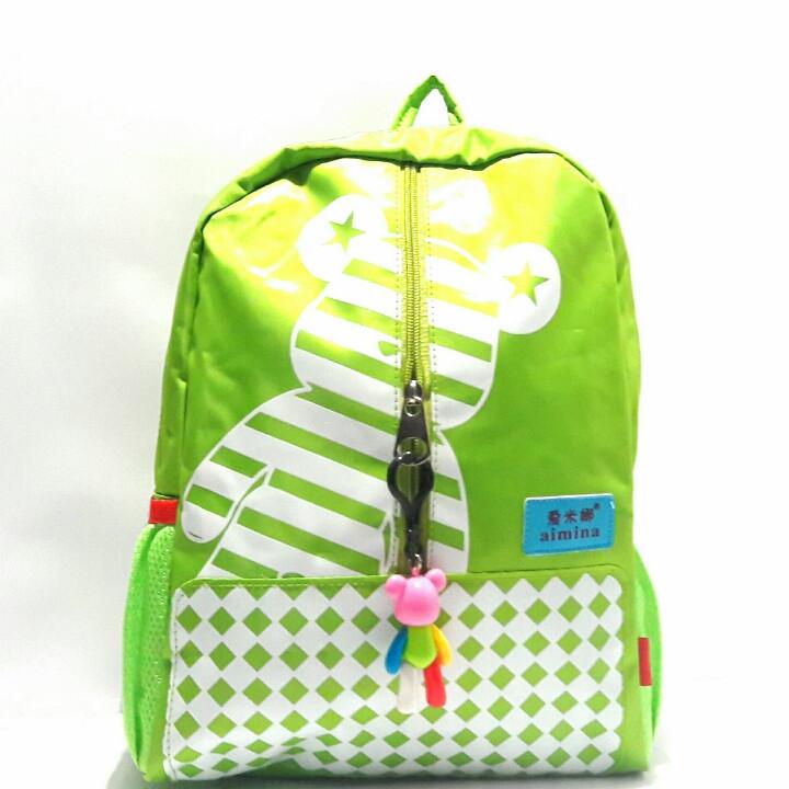 """Рюкзак """"Ведмедик"""" зелений"""