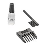 Машинка для стрижки MOSER 1400 Mini бордовая(1411-0050), фото 5