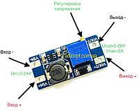 Радиоконструктор Преобразователь DC-DC повышающий на MT3608(=ICSA004A)