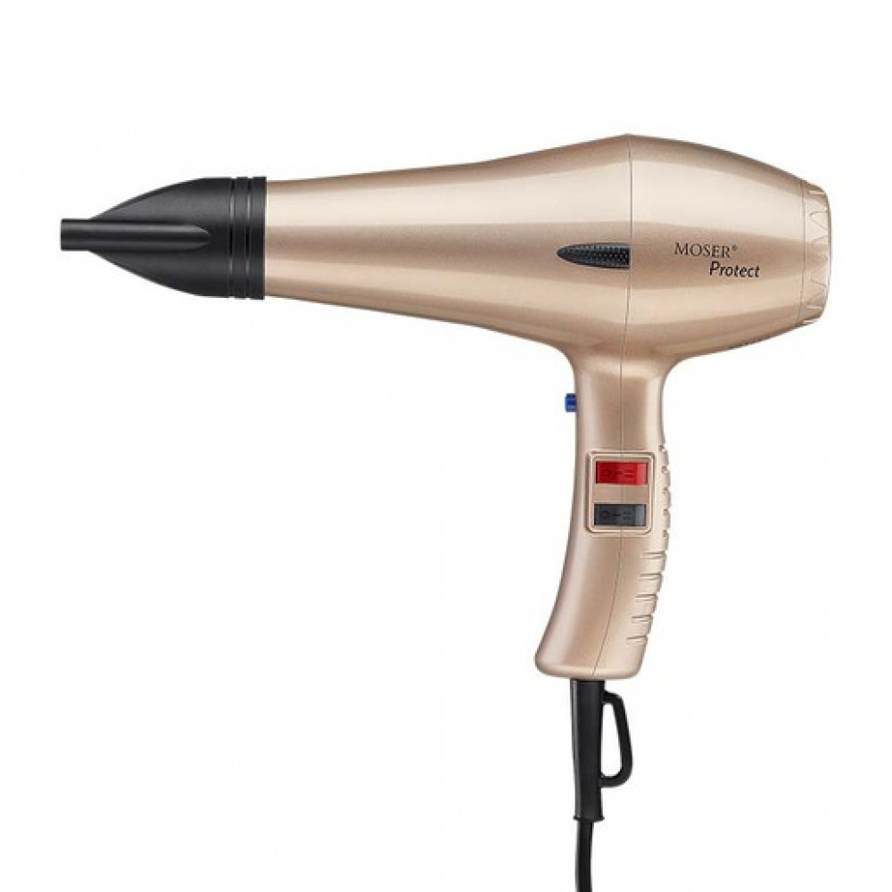 Фен Moser Protect rose-gold 1500W(4360-0055)