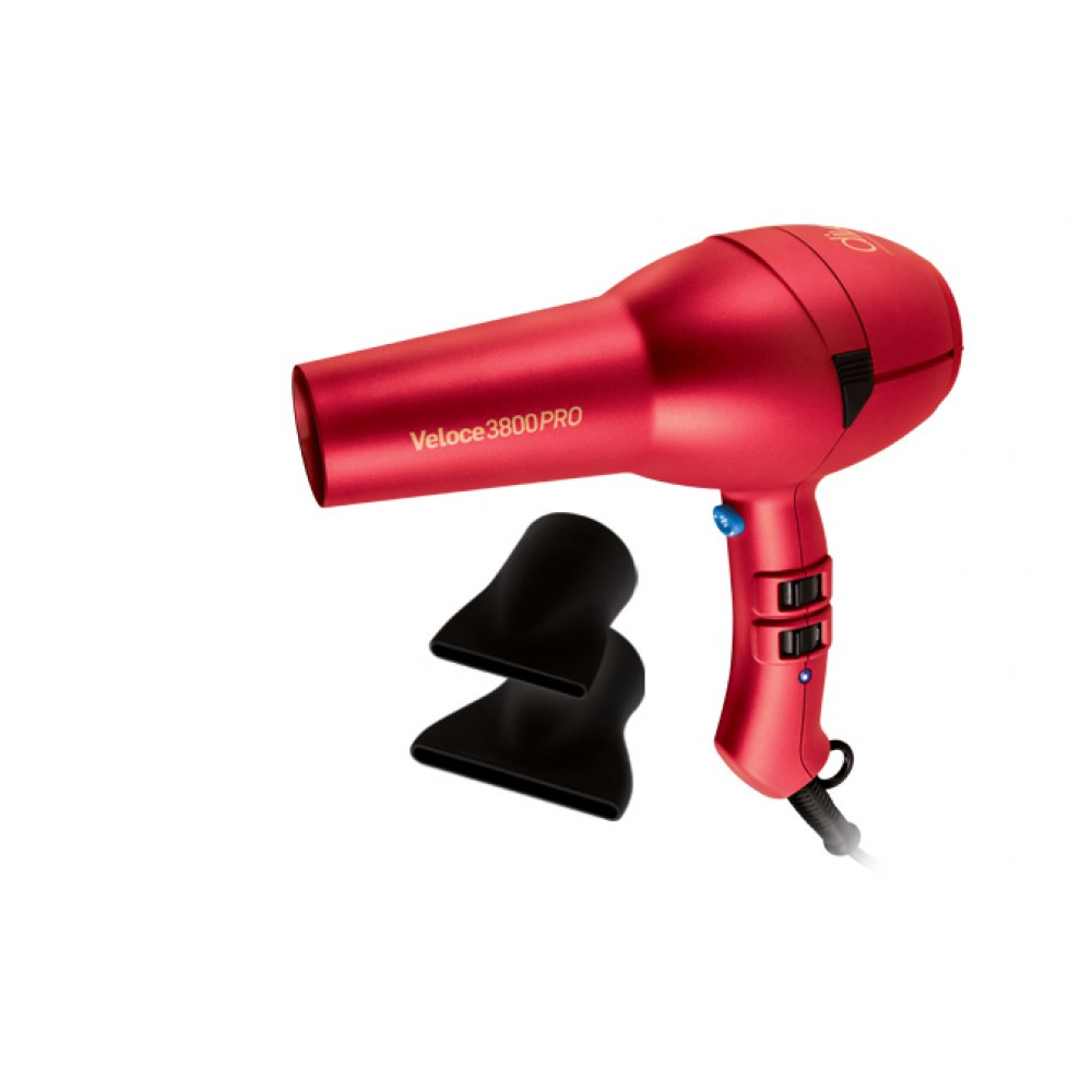 Фен Diva Professional Styling Veloce3800Pro Red 2000W(D135)