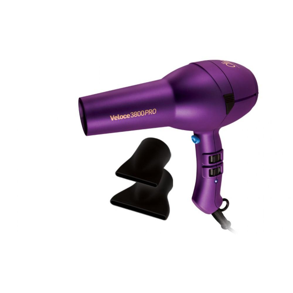 Фен Diva Professional Styling Veloce3800Pro Фиолетовый 2000W(D136)
