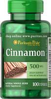 Puritan's pride Cinnamon 500 mg 100 caps