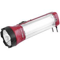 Аккумуляторный фонарь Yajia 1052, 1W+9SMD