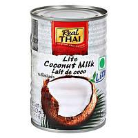 Кокосовое молоко натуральное Real Thai, 400мл