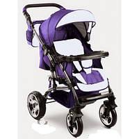 Прогулочная коляска VIKING Trans-Baby 115/19 (Викинг Транс Бейби, фиолетовый+бл.сиреневый)