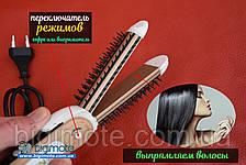 ПЛОЙКА для волос,плойка,утюжок для волос,выпрямитель для волос,подарок, фото 2