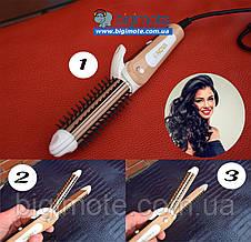 ПЛОЙКА для волос,плойка,утюжок для волос,выпрямитель для волос,подарок, фото 3