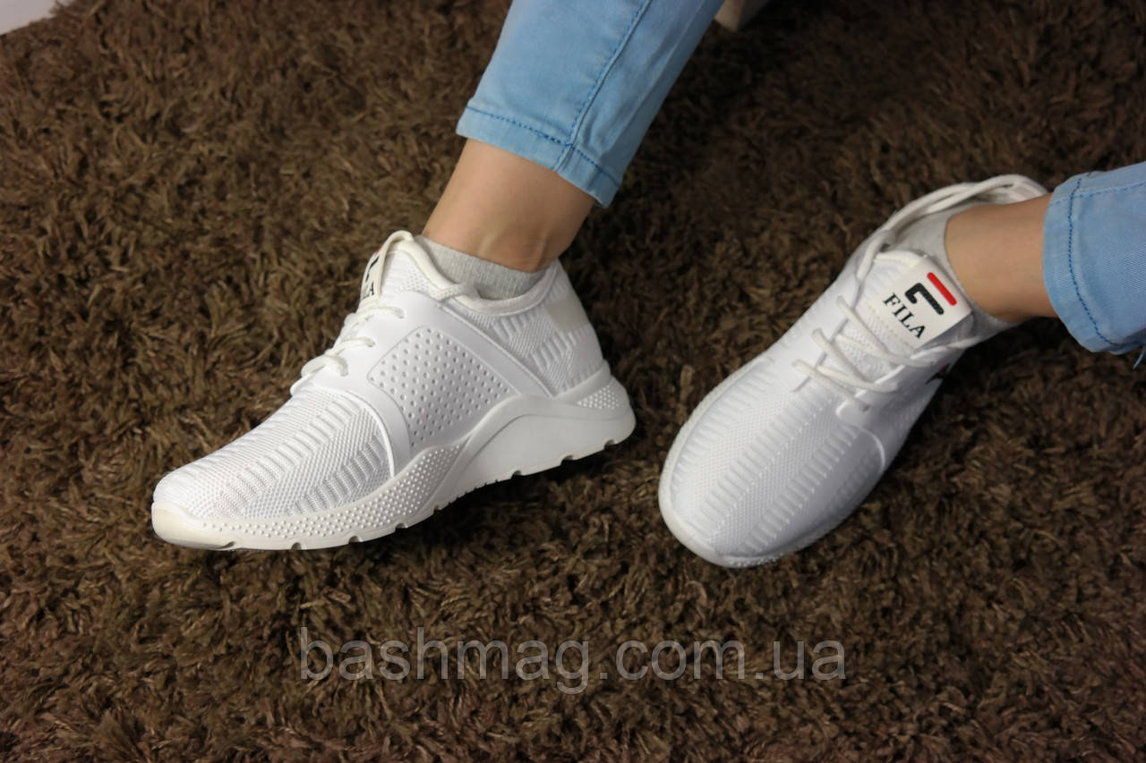 bc0e1484 ... Женские белые кроссовки в стиле FILA. Для спорта и повседневной носки,  фото 10
