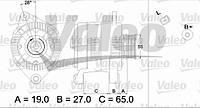 ⭐⭐⭐⭐⭐ Щетка стеклоочистителя 475 мм FIRST (производство  Valeo) АЛЬФА РОМЕО,АУДИ,ДОДЖ,ФИАТ,ФОРД,ХОНДА,ИСУЗУ,ЛAНЧА,МАЗДА,МИТСУБИШИ,НИССАН,ОПЕЛЬ, 575548