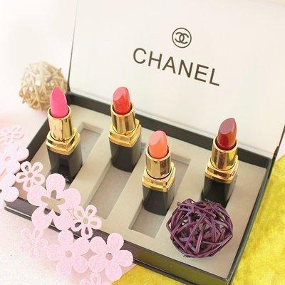 Набор губных помад Сосо Chanel 4 штуки Лучший подарок!