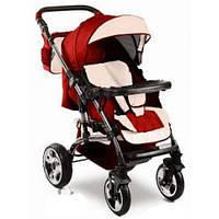Прогулочная коляска VIKING Trans-Baby 9/crem (Викинг Транс Бейби, бо т.красный+крем)
