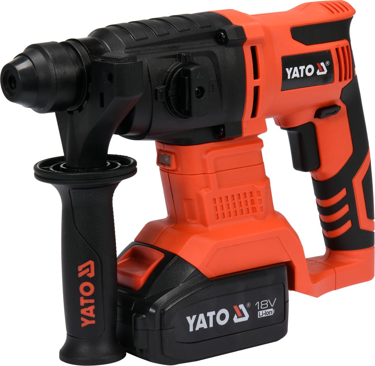 Перфоратор акумуляторний SDS+ YATO YT-82770