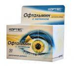 Офтальмин с лютеином (Кортес).Для защиты глаза.