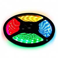 Светодиодная лента многоцветная влагозащищенная 5050 IP65 60 диод./м 14.4 вт/м RGB