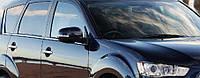 Хром молдинг стекла Mitsubishi Outlander XL  (2007-2012) 8шт