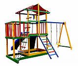 Детская спортивная площадка цветной Babyland-11, фото 3