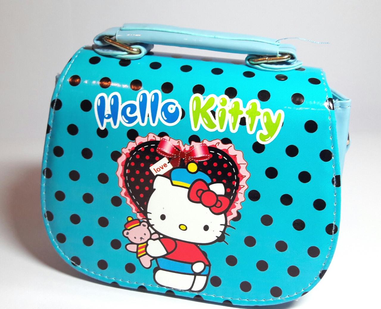 """Сумочка для дівчинки """"Hello Kitty"""" лакова"""