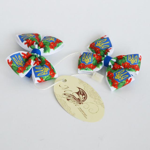 Заколка для волос Цветы Украины