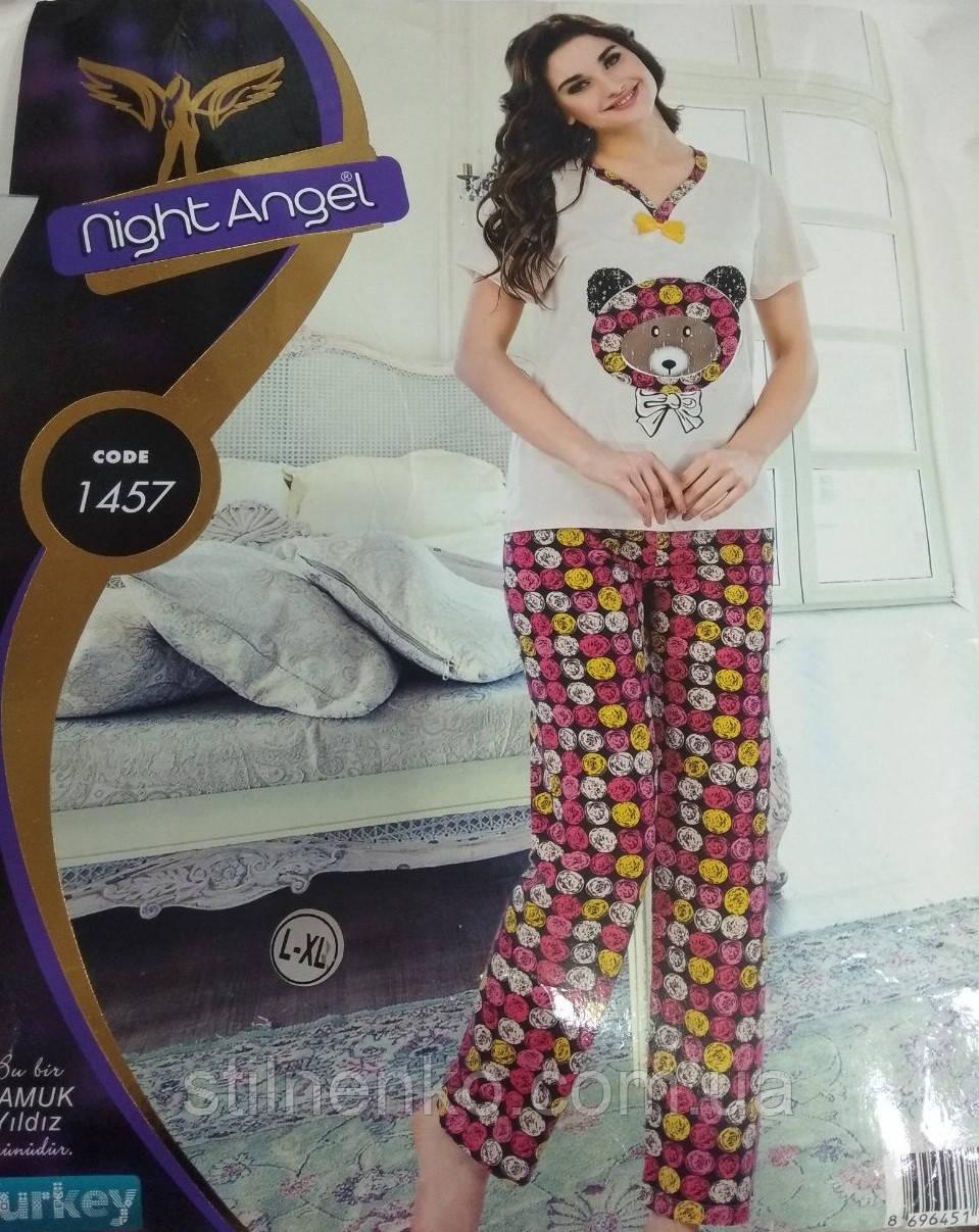 "Домашняя пижама-костюм ""Night Angell"",Турция"