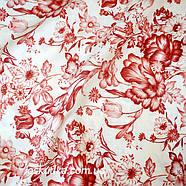 38003 Гербарий. Принты цветы в мотивах прованса. Ткань для декорирования и шитья. Американский хлопок., фото 2
