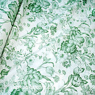 38004 Гербарий. Пэчворк ткань с набивным рисунком. Натуральные ткани для шитья и рукоделия., фото 2