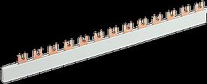 Шина соединительная FORK (вилка) 1Р 100А длина 1м ИЭК