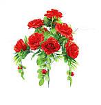 Искусственные цветы роза с ягодой, 50 см, фото 2