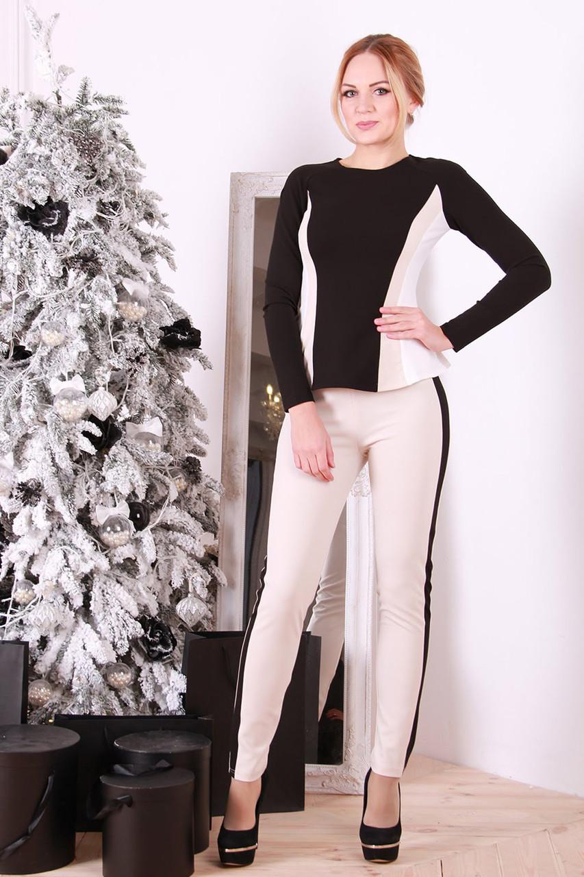 dfa37e9c8efc Женские брюки с лампасами Легато