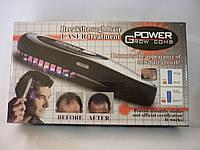 Электрорасчёска power grow, эффект массажа, ик-лучи, лазерная терапия, съемный гребень, рост и здоровье волос