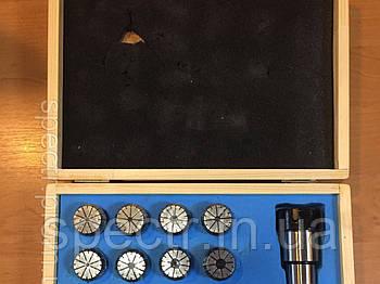 Патрон цанговый с комплектом цанг MT4-ER32-18
