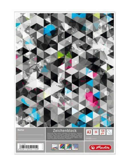 Альбом для рисования Herlitz A3 20 листов 120г Graphic