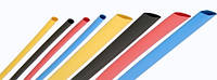 Термоусадка без клея 100/50 мм, цветная, 1метр