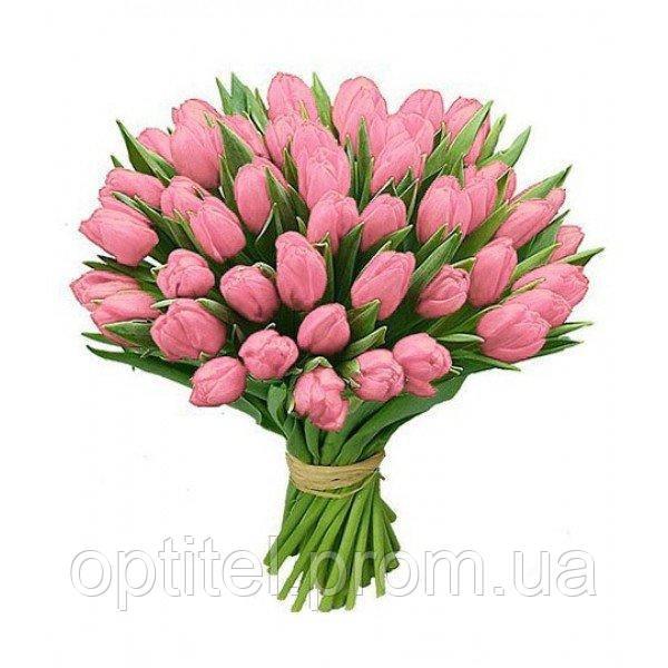 """Букет """"51 розовый тюльпан"""""""