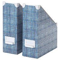 Организатор на документы IKEA FJÄLLA белый синий 604.323.41