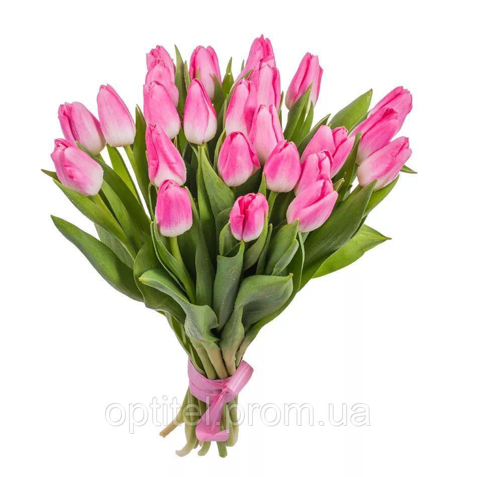 """Букет """"25 розовых тюльпана"""""""