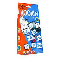 Rory's Story Cubes. Moomin (Кубики Историй Рори. Муми Тролли) - настольная игра