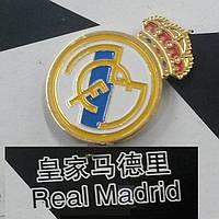 Металлический значок футбольного клуба Реал Мадрид