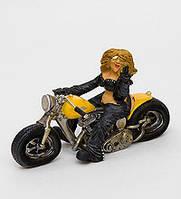 Статуетка Дівчина Байкер RV - 34 17 см