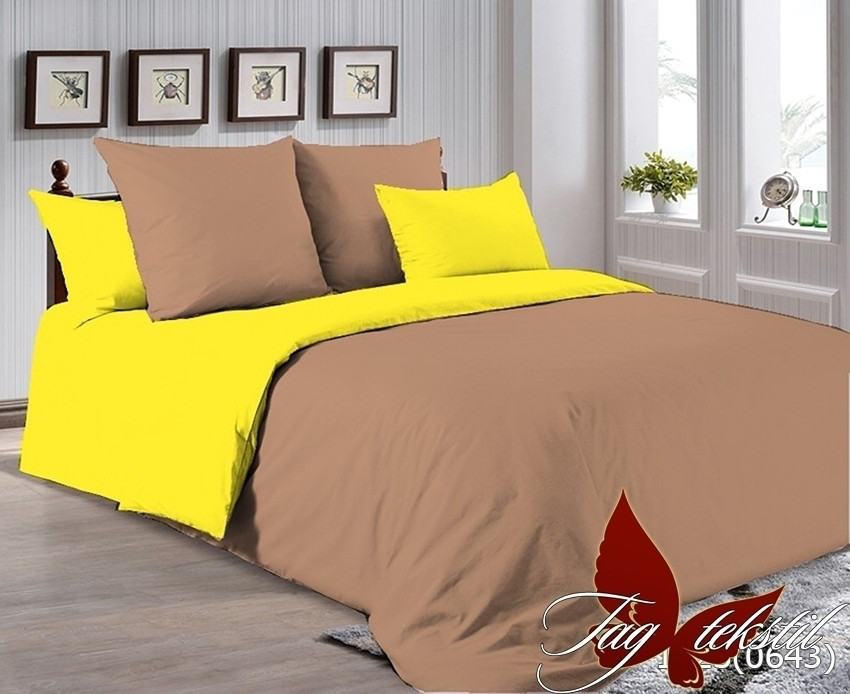 Комплект постельного белья из натурального хлопка Р-1323(0643)