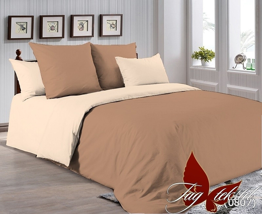 Комплект постельного белья из натурального хлопка -1323(0807)