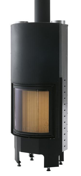 Камин Piazzetta 555 T SL, Италия 8 кВт