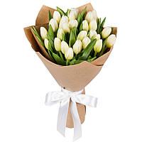 """Букет """"25 белых тюльпана"""""""