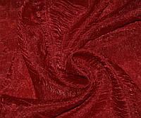 Тюль органза жатка, бордо