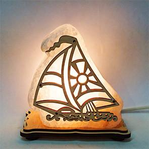 Соляной светильник Кораблик Малый
