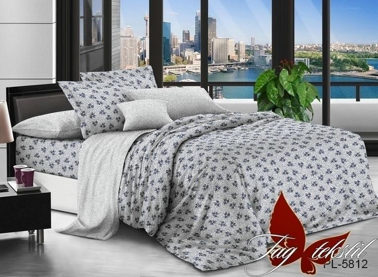 Комплект постельного белья из натурального поплина с компаньоном