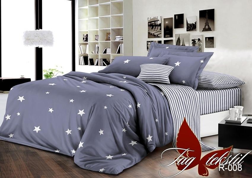 Комплект постельного белья с компаньоном из натурального ранфорса