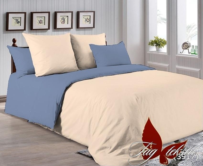 Комплект постельного белья из натурального хлопка Р-0807(3917)