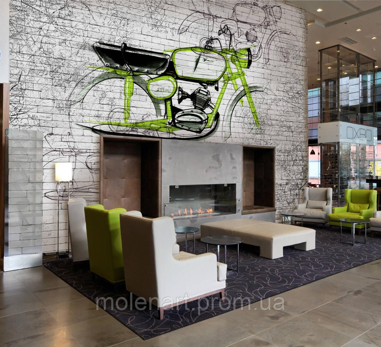 Картинка для печати Мотоцикл